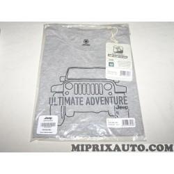 Tee-shirt taille S gris Ultimate adventure Mopar Jeep Dodge Chrysler original OEM 6002350580