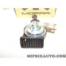 Klaxon avertisseur sonore Mopar Jeep Dodge Chrysler Mercedes original OEM 68073710AC