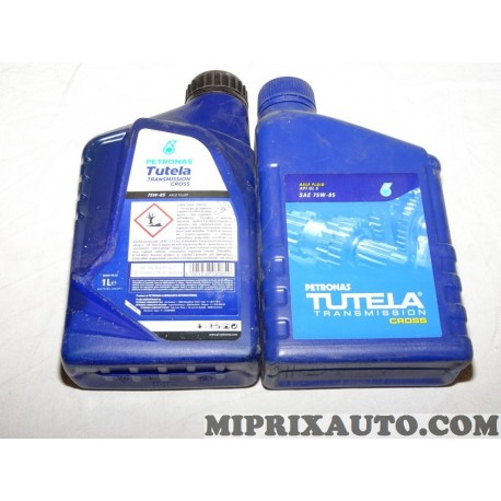 1 Bidon 1L 1 litre huile transmission boite de vitesses 75W85 API GL-5 Petronas Tutela cross