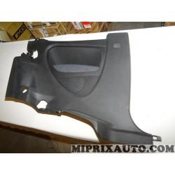 Garniture panneau compartiment coffre arriere gauche gris anthracite Fiat Alfa Romeo Lancia original OEM 735485062 pour fiat gra