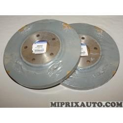 Paire disques de frein avant 330mm diametre ventilé Mopar Jeep Dodge Chrysler original OEM 04779712AA pour chrysler pacifica lan