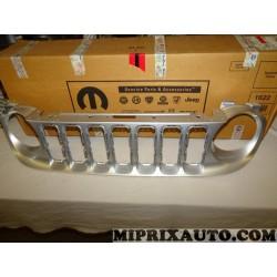 Grille calandre de radiateur Mopar Jeep Dodge Chrysler original OEM 735599126 5XB15LS1AA pour jeep renegade de 2014 à 2018