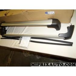 Paire barres de toit aluminium avec système verrouillage Mercedes Benz original OEM 2138900693 pour mercedes classe E W213 parti