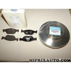 Pack freinage disques 71738373 + plaquettes de frein 77362190 Fiat Alfa Romeo Lancia original OEM 71751295