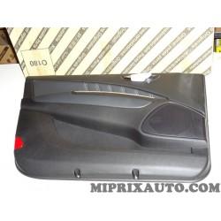 Panneau de porte avant gauche cuir noir Fiat Alfa Romeo Lancia original OEM 735477951 pour lancia delta 3 III de 2008 à 2014