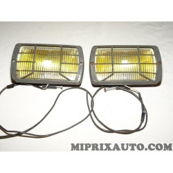 Lot 2 phares projecteur antibrouillard occasion sacex 2977-2952 verre 38577
