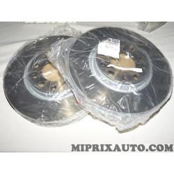 Paire disques de frein avant 281mm diametre ventilé Fiat Alfa Romeo Lancia original OEM 51815312 pour alfa romeo giulietta