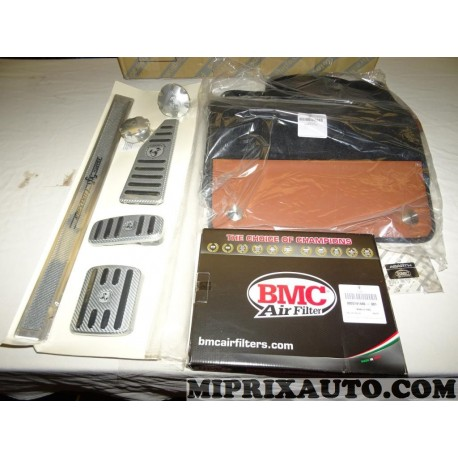 Pack pedalier bouchon reservoir seuil de porte tapis sol filtre à air 5741440 + 50928027 + 5744488 Fiat Alfa Romeo Lancia origin
