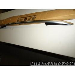 Barre de toit longitudinale main courante de pavillon gauche noir rally chrome Volkswagen Audi Skoda Seat original OEM 5N0860043