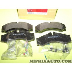Jeux 4 plaquettes de frein Motrio Renault Dacia original OEM 8671019145 pour mercedes sprinter