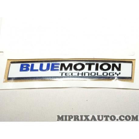 Logo monogramme badge ecusson motif bluemotion technology Volkswagen Audi Skoda Seat original OEM 5G0853675APCWB