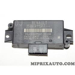 Centrale capteur radar recul aide stationnement Renault Dacia original OEM 259904115R pour renault clio 4 IV