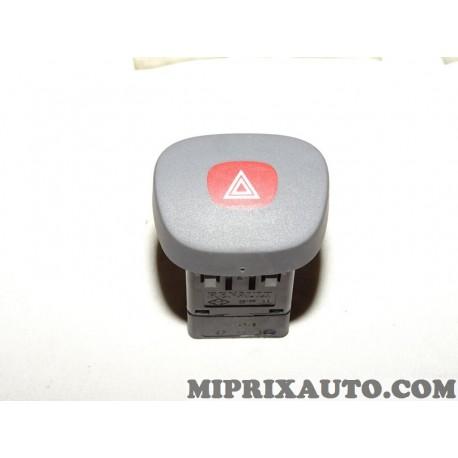 Bouton commande feux de detresse warning Renault Dacia original OEM 7700421820