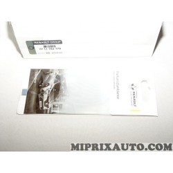 Parfum d'ambiance habitacle chrome DLU 04/19 Renault Dacia original OEM 7711782179
