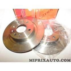 Paire disques de frein Motrio Renault Dacia original OEM 8660001263 pour opel astra H zafira B