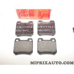 Jeux 4 plaquettes de frein Motrio Renault Dacia original OEM 8671019168 pour opel omega A B vectra B senator A B