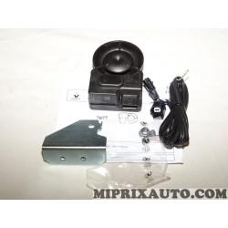 Sirene alarme antivol avec faisceau (contenu de la photo) Renault Dacia original OEM 8201679785 Cobra 7877 487877C3C