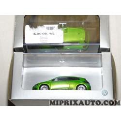 1 Voiture miniature 1/43 scirocco verte Volkswagen Audi Skoda Seat original OEM 1K809930098B