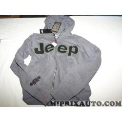 Sweatshirt avec capuche taille L Jeep Mopar Jeep Dodge Chrysler original OEM 99232