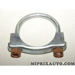 Collier fixation tuyau silencieux echappement 67mm Ford original OEM 1096831