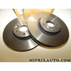 Paire disques de frein avant ventilé 316mm diametre Ford original OEM 1864276