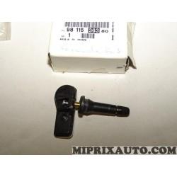 Valve capteur de pression pneu roue Citroen Peugeot original OEM 9811536380