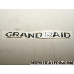 Logo motif embleme ecusson monogramme grand raid Citroen Peugeot original OEM 8665SW