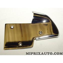 Plaque element revetement chrome arriere Mercedes Benz original OEM 1246730738