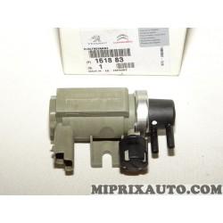 Soupape electrovanne circuit depression Citroen Peugeot original OEM 161883 9648997480
