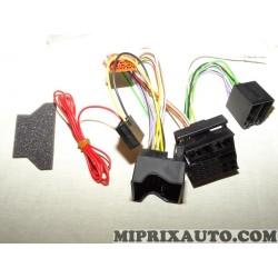 Cable faisceau electrique branchement poste radio autoradio (manque le fil antenne radio !) Citroen Peugeot original OEM 9706AN