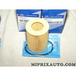 Filtre à huile Hyundai Kia original OEM 2632027110