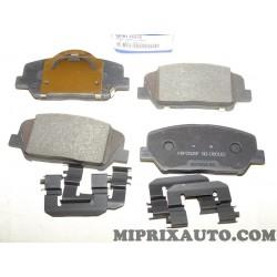 Jeux 4 plaquettes de frein Hyundai Kia original OEM 58101A6A20
