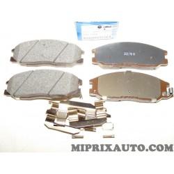 Jeux 4 plaquettes de frein Hyundai Kia original OEM 5810126A30