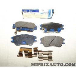 Jeux 4 plaquettes de frein Hyundai Kia original OEM 5810105A10