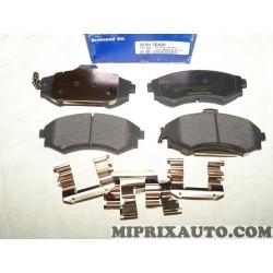 Jeux 4 plaquettes de frein Hyundai Kia original OEM 581012DA20