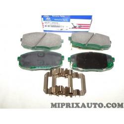 Jeux 4 plaquettes de frein Hyundai Kia original OEM 581011HA20
