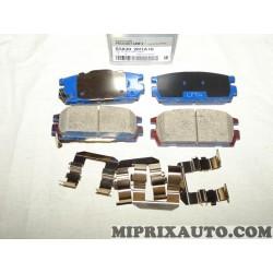 Jeux 4 plaquettes de frein Mobis Hyundai Kia original OEM S58302H1A10 583022H1A10