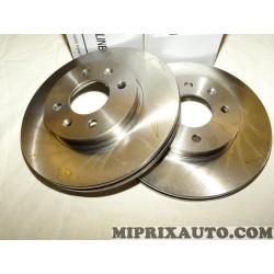 Paire disques de frein Mobis Hyundai Kia original OEM S517121G000 517121G000