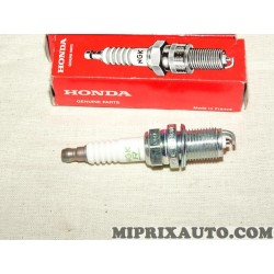 Lot 4 bougies allumage Honda original OEM 980795614E BKR6E11