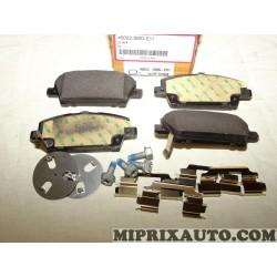 Jeux 4 plaquettes de frein Honda original OEM 45022SMGE51