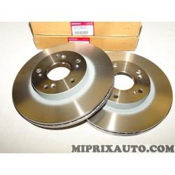 Paire disques de frein Honda original OEM 45251SMGE31