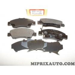 Jeux 4 plaquettes de frein Honda original OEM 45022SAAE51