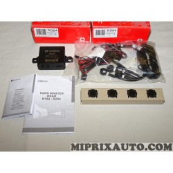 Kit radar de recul aide au stationnement 4 capteurs Cobra Vodafone Honda original OEM R094 AMR094EUSAA