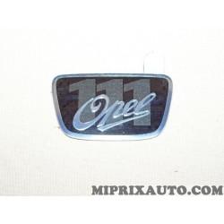 Logo embleme ecusson badge monogramme motif Opel 111 Opel Chevrolet original OEM 13341785