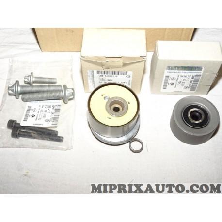Jeu galet tendeur + enrouleur courroie de distribution (non incluse) Opel Chevrolet original OEM 95518061 1629095