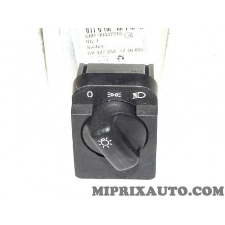 Interrupteur bouton comodo commande phare Opel Chevrolet original OEM 90437313 1240055