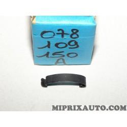 Languette ressort fixation carter protection courroie de distribution Volkswagen Audi Skoda Seat original OEM 078109150A