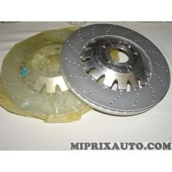 Lot 2 disques de frein avant ventilé 370mm diametre Volkswagen Audi Skoda Seat original OEM 8P0615301C pour audi A3 RS3 sportbac