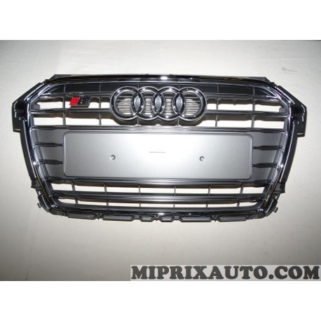 Calandre grille de radiateur gris platine Volkswagen Audi Skoda Seat original OEM 8XA8536511RR pour audi A1 version S1 partir de