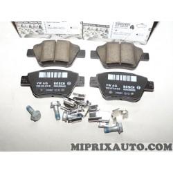 Jeux 4 plaquettes de frein Volkswagen Audi Skoda Seat original OEM 5K0698451